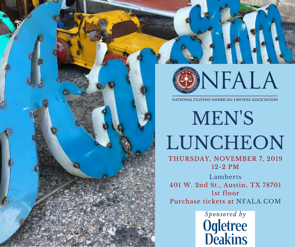 2019 Men's Luncheon